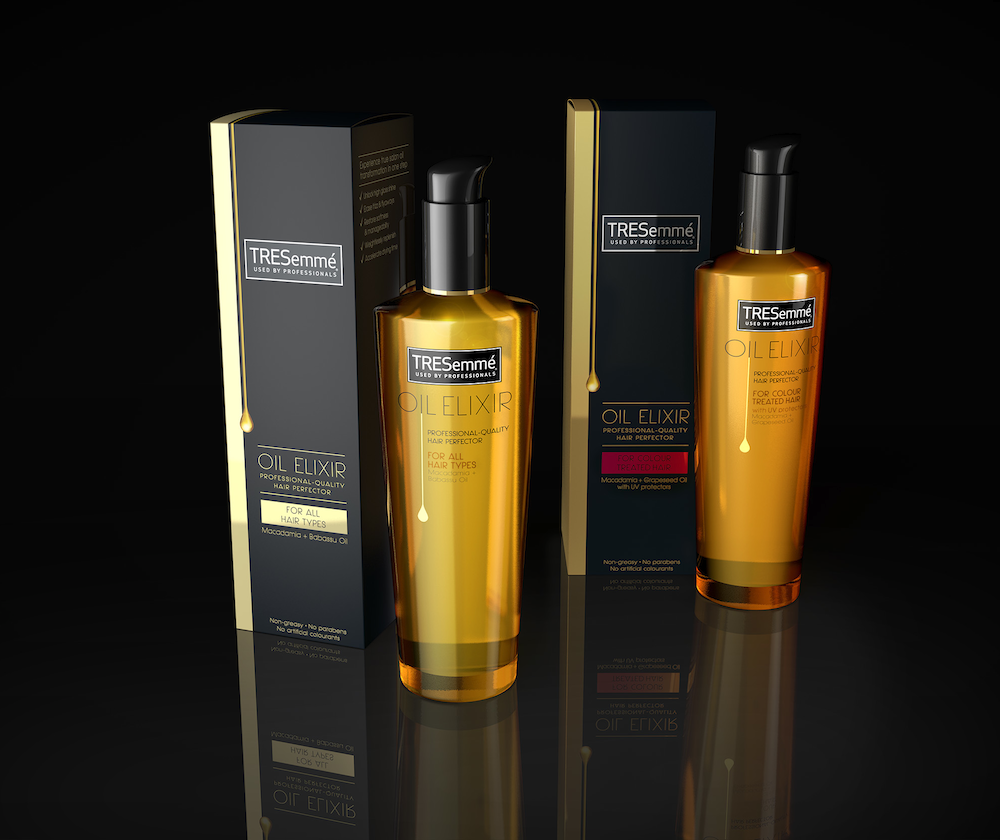 Photo: new products in the TRESemmé hair care portfolio