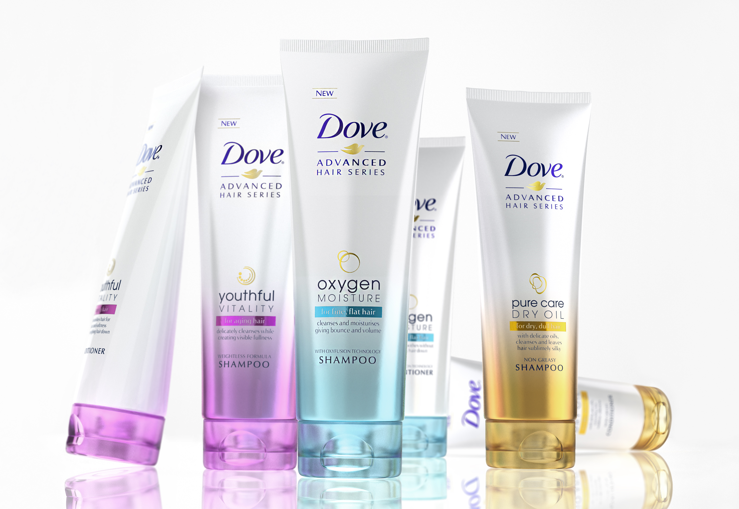 Photo: Dove Premium range for the European markets