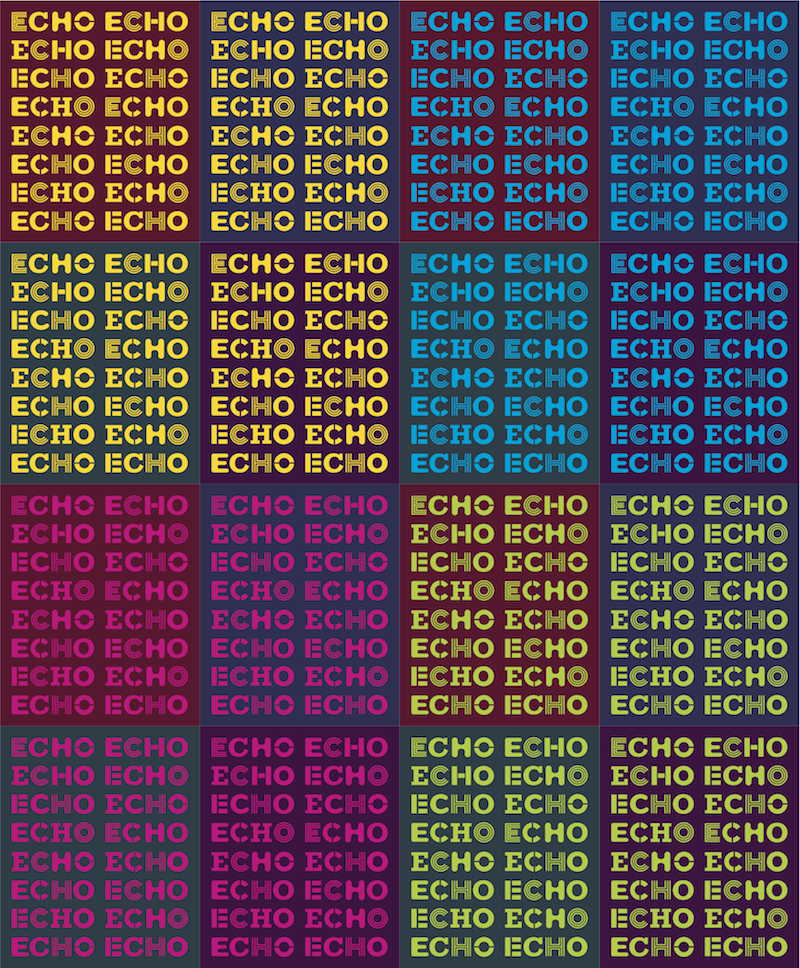 Photo: New Echo logos