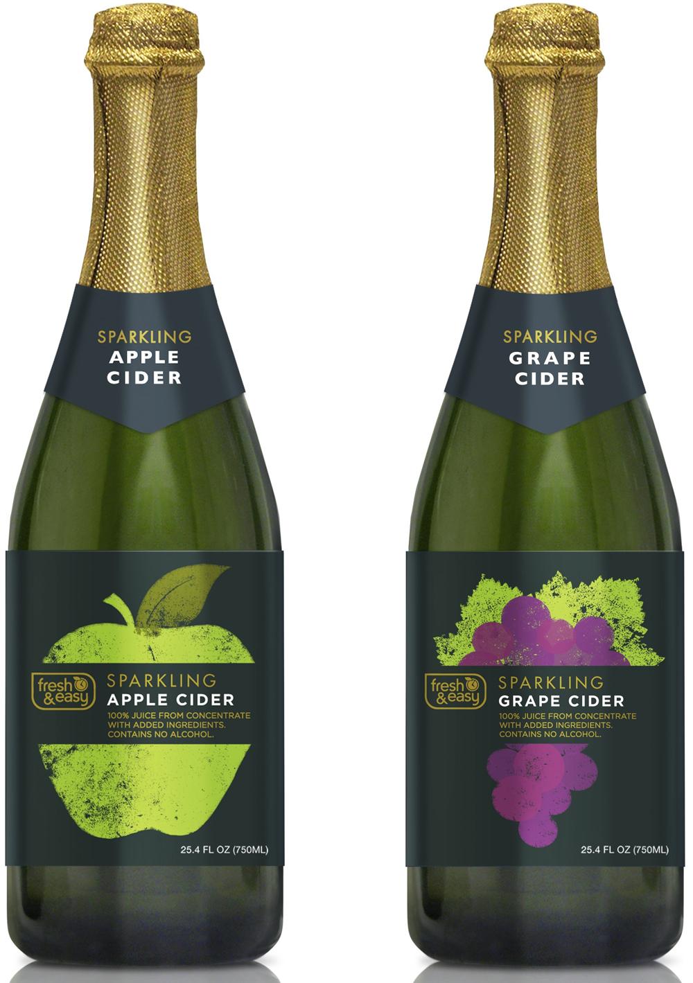 grape sparkling cider