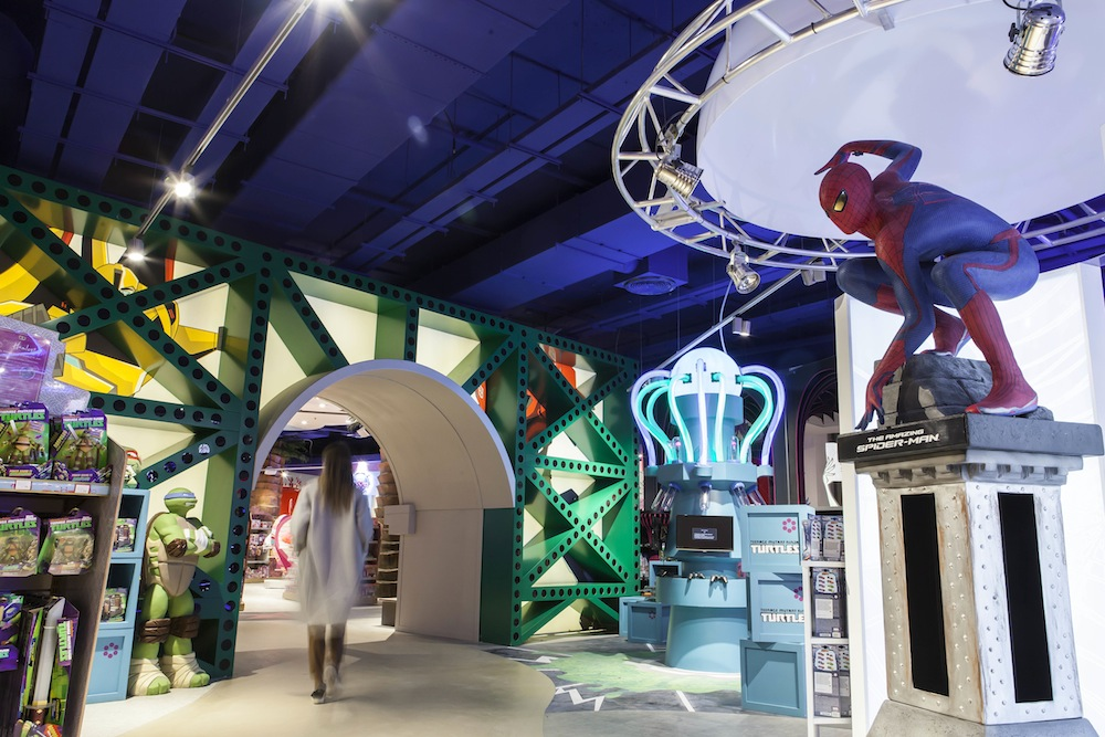 Photo: interior of Hamleys Moscow, designed by FITCH