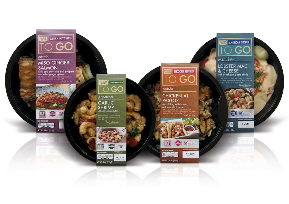 P w redesigns two fresh easy s subbrands popsop for Cuisine to go