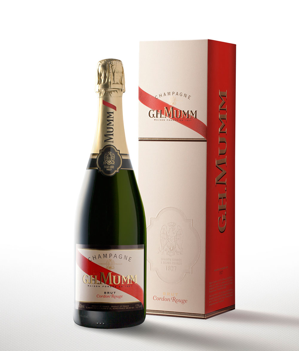 Photo: re-design for the French champagne brand G.H.MUMM