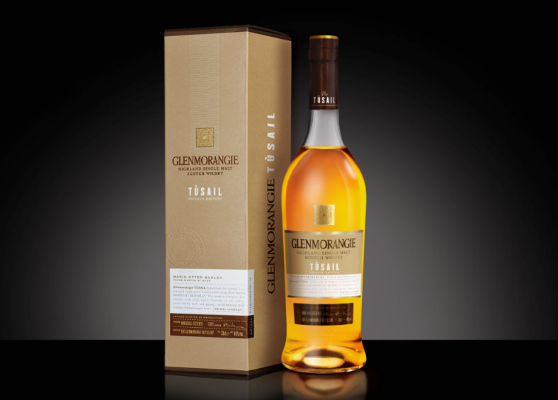Photo: packaging design for Glenmorangie Tùsail