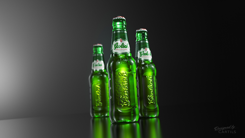 Photo: new Grolsch glass bottle, 2014