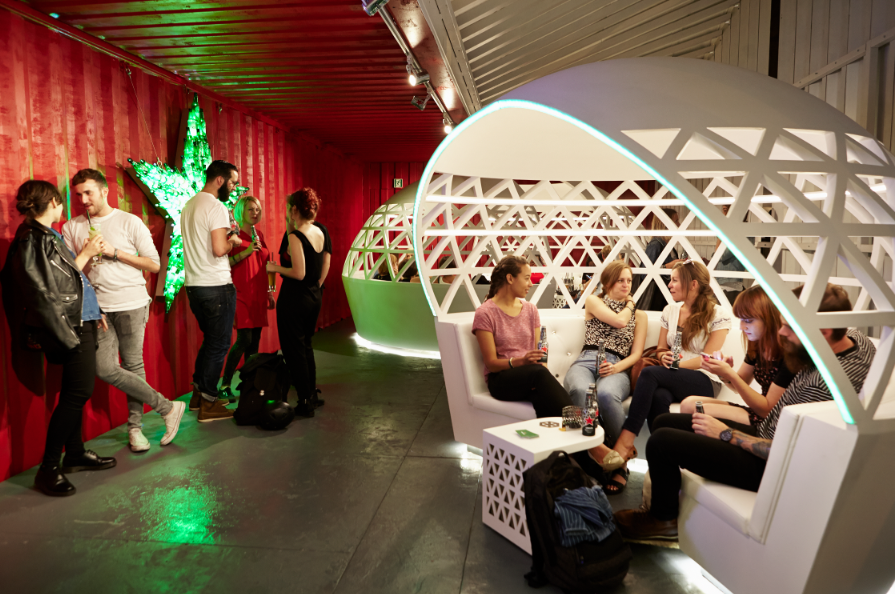 Heineken Pop-up City Lounge