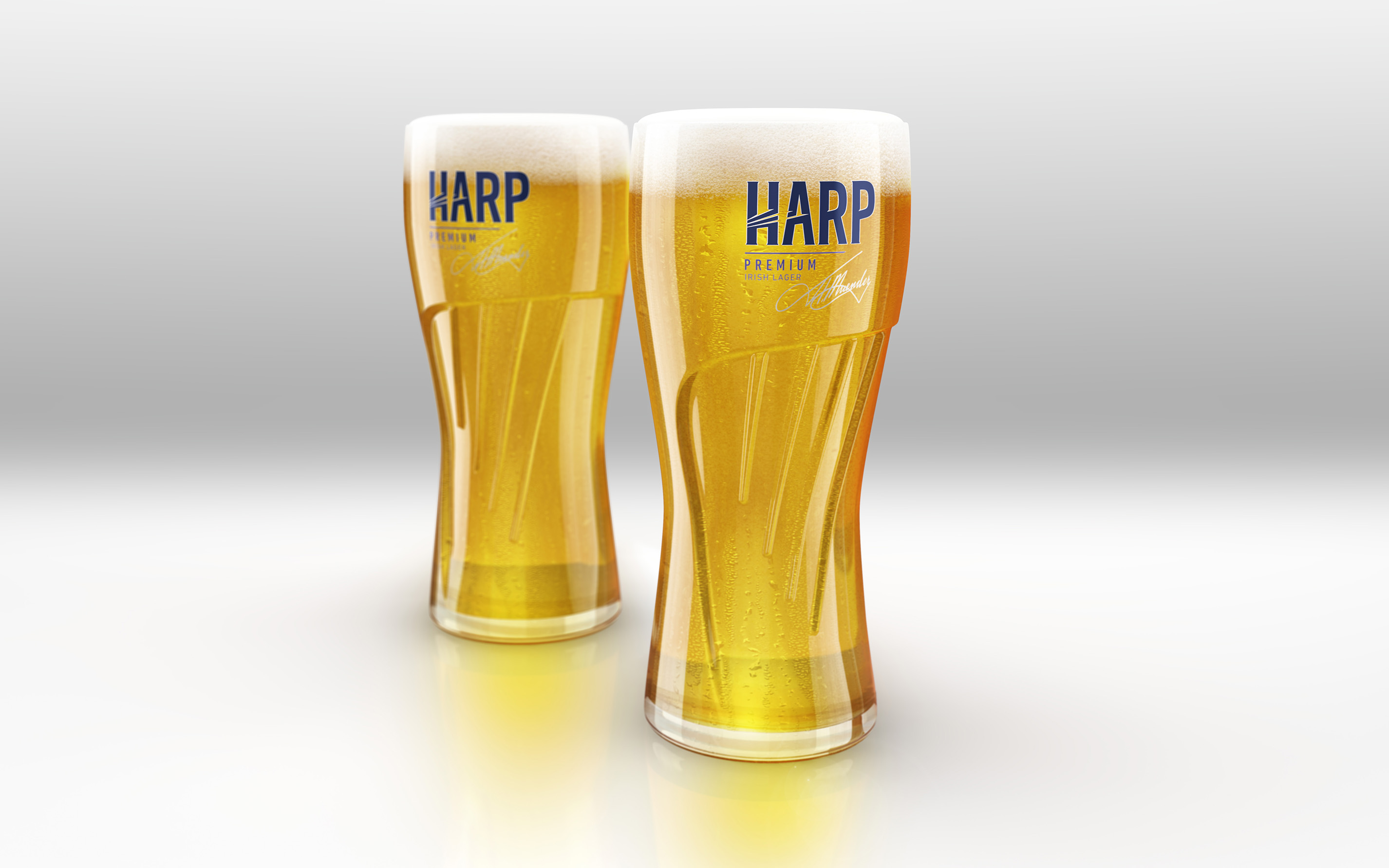 Pic.: Harp Lager's new look