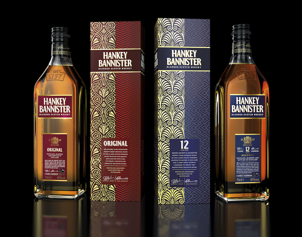 Photo: new design for Hanky Bannister whisky
