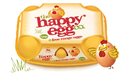 Photo: The Happy Egg packaging