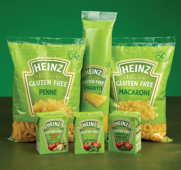 Photo: Heinz Deliciously Gluten Free range, UK