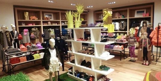Photo: J Crew retail environment