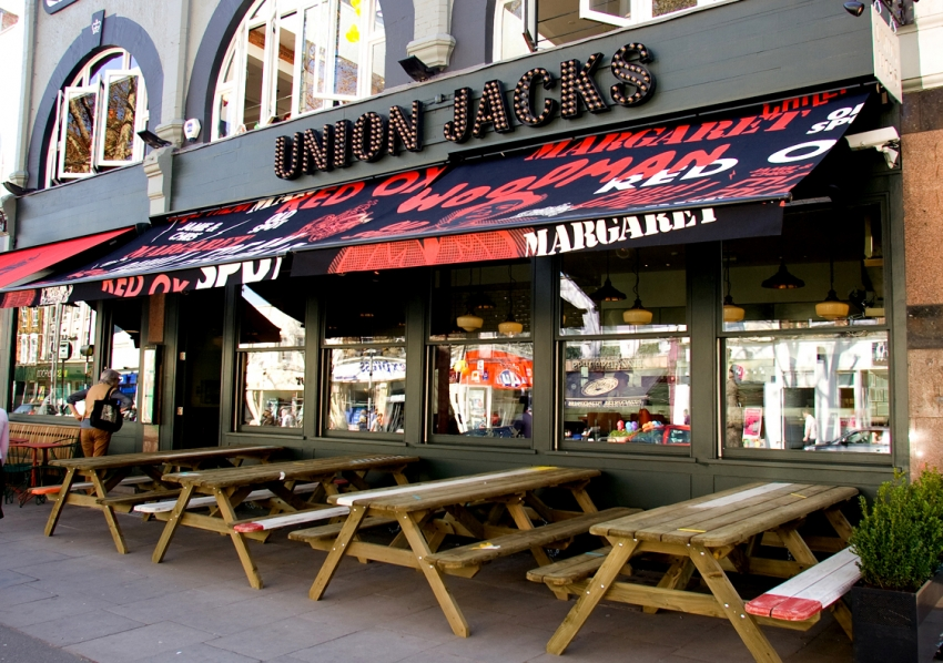 Photo: Union Jacks restaurant in Chiswick, London