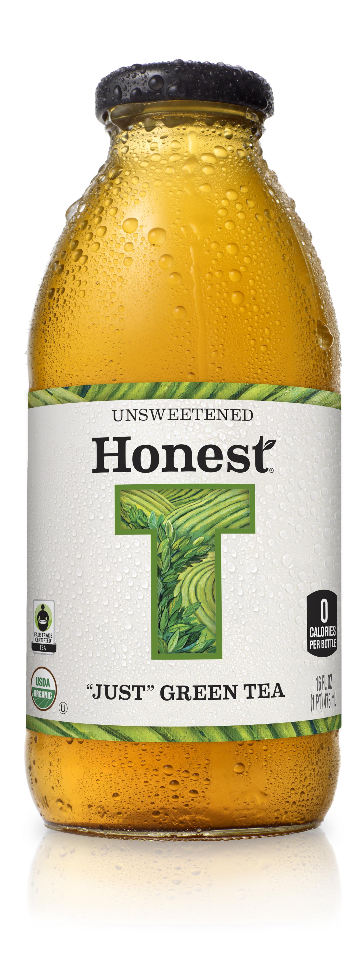 Photo: new label design, Honest tea glass bottles range