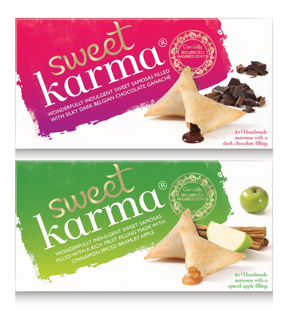Photo: Packaging of the Sweet Karma Indian desserts