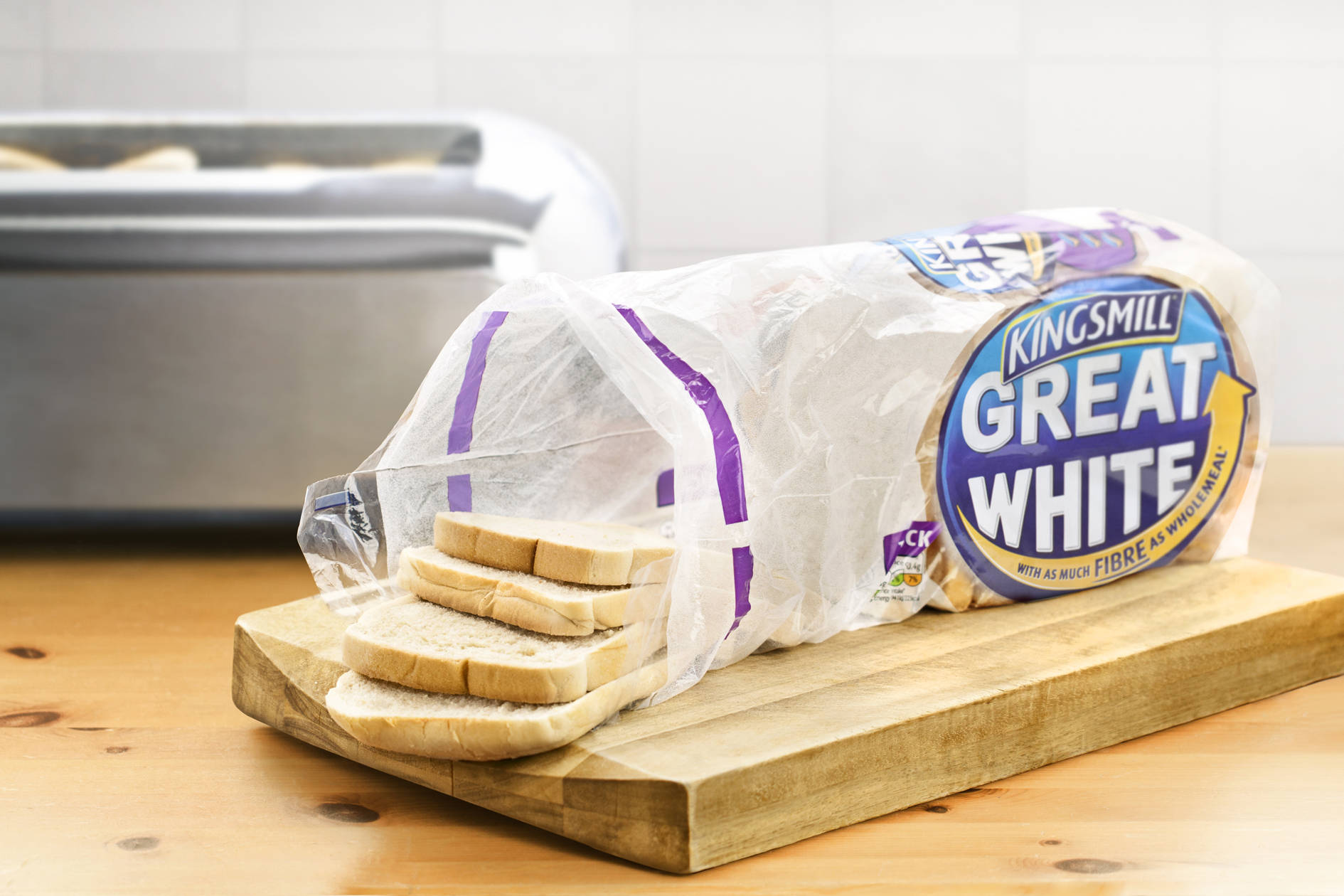 Photo: Kingsmill's Great White bread