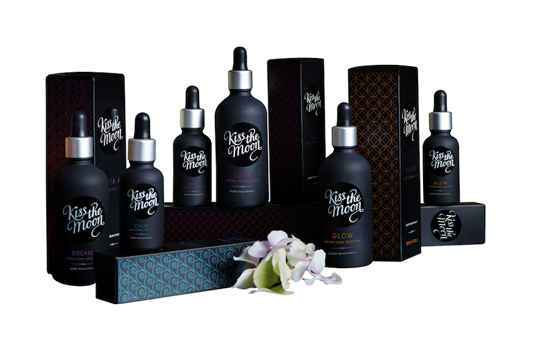 Pic.: Kiss by Moon, a new premium night-only beauty care range