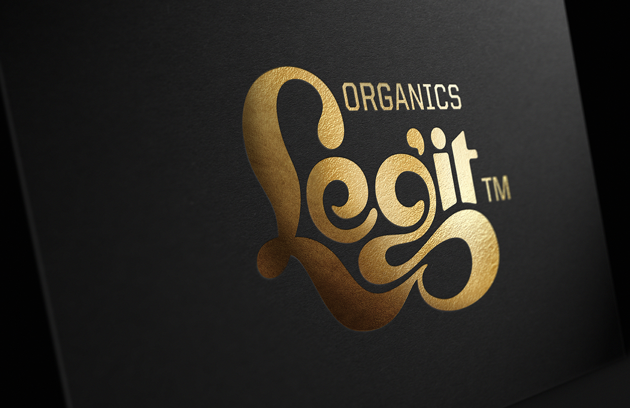 Photo: Legit confectionary's branding and packaging