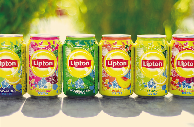 Photo: new Lipton Ice Tea in cans
