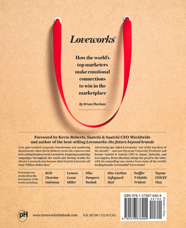 "Photo: the cover of the book ""Loveworks: How the world's top marketers make emotional connections to win in the marketplace"" by Saatchi & Saatchi"