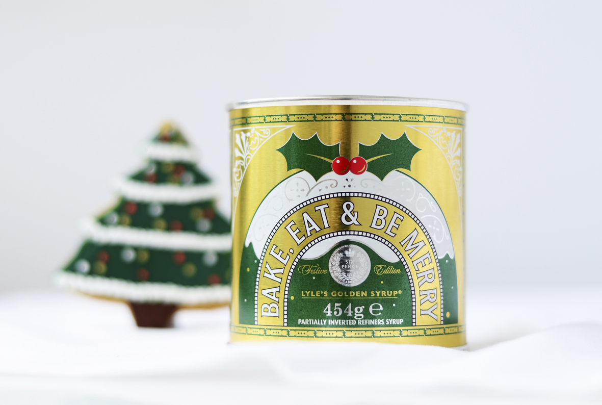 Pic.: Lyle's Golden Syrup, festive tins
