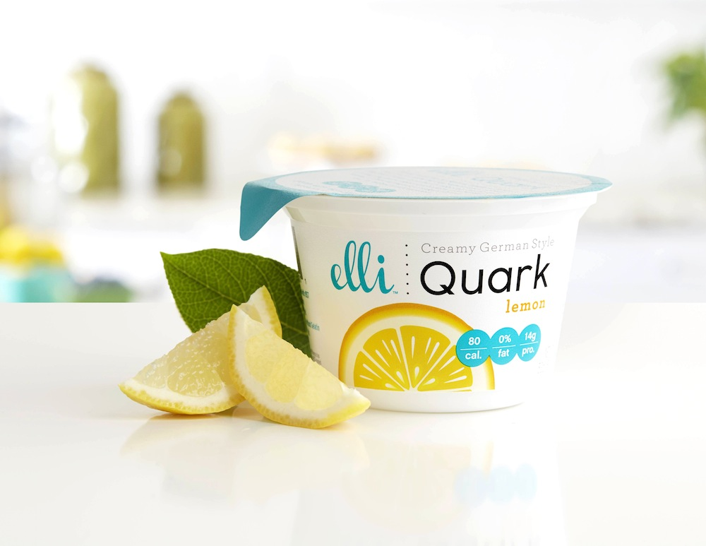 Photo: new Elli Quark dairy product for the U.S. market, another flavor