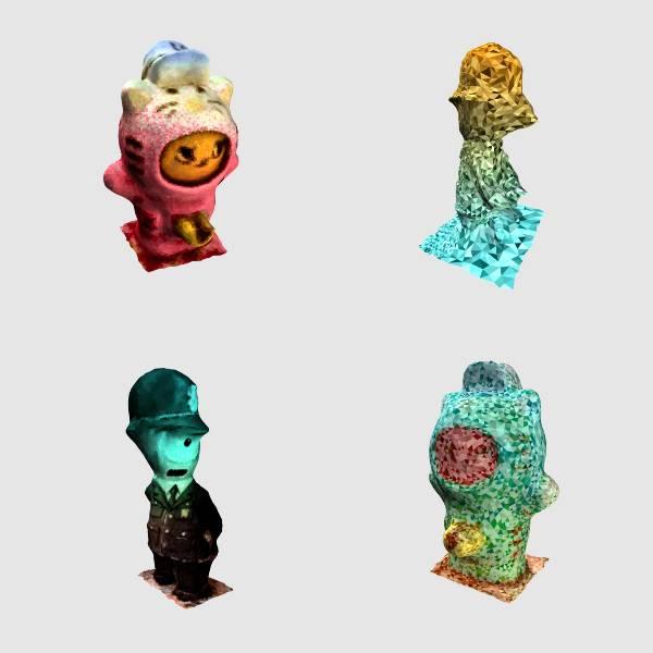 Photo: Matthew Plummer-Fernandez's concept of 3D-printed bobble heads