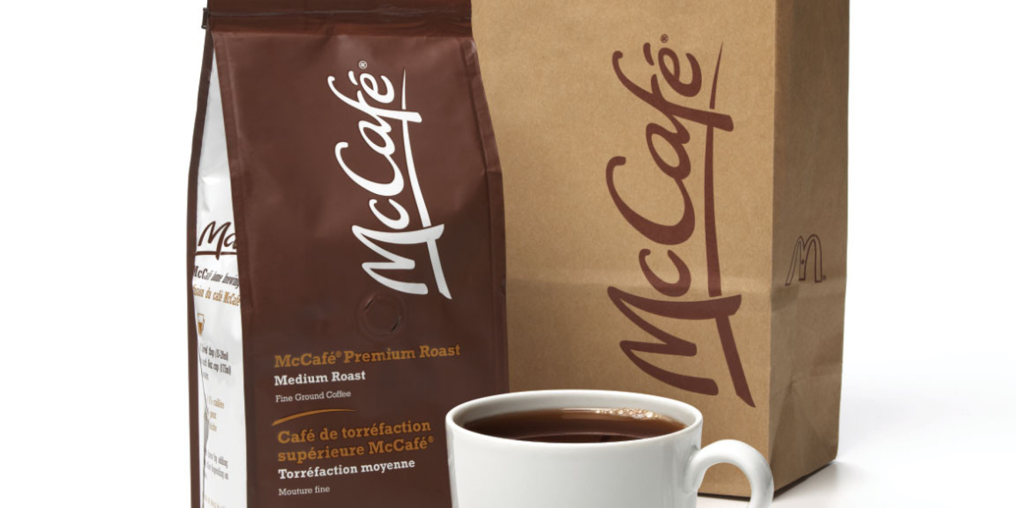 Photo: McDonald's McCafé packaged coffee to be sold in retail in the U.S. starting 2015