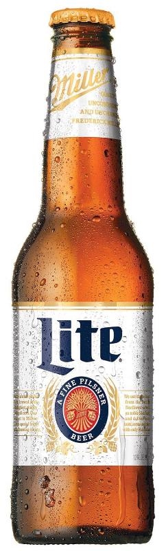 Photo: a new heritage Miller Lite bottle