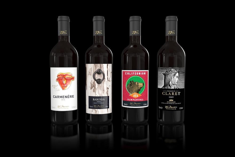 Pic. Morrisons range of wines