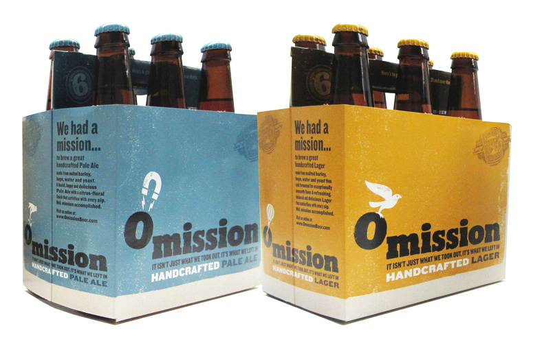 Photo: Omission Gluten-free beer