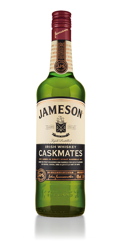 Pic.: new premium Jameson Caskmates aged whiskey