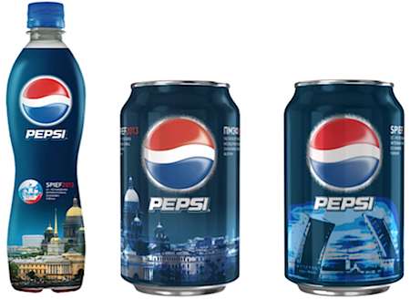 Photo: Pepsi St. Petersburg edition, 2013