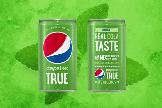 Photo: Pepsi True, available at Amazon.com exclusively