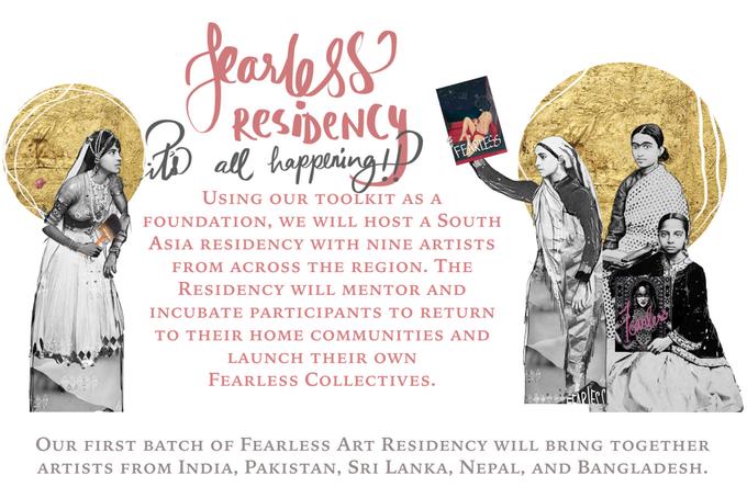 Fearless Residency, kickstarter.com
