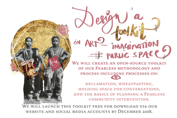 Fearless, Design a toolkit on art-imagination, kickstarter.com