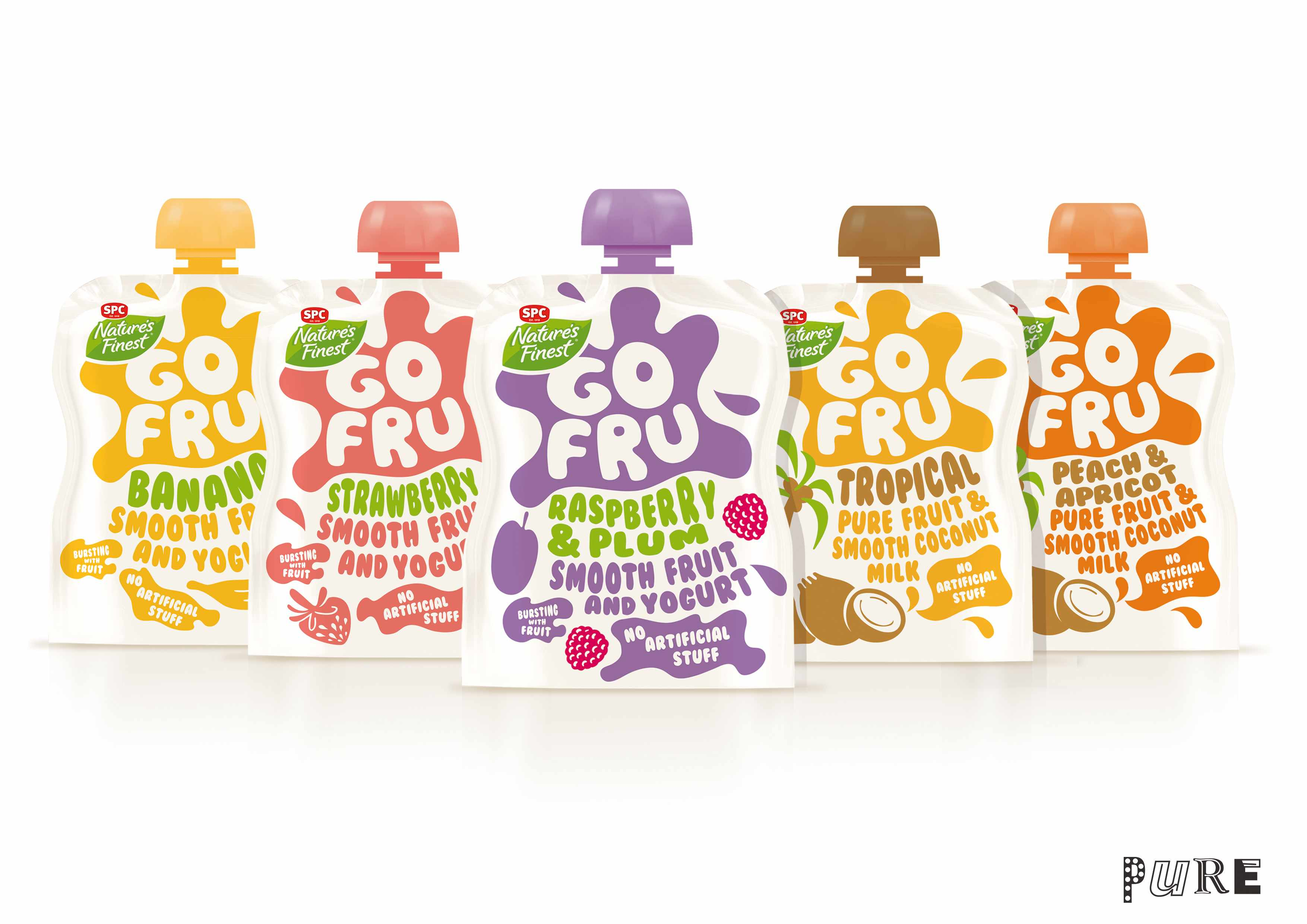 Photo: Go Fru yogurts