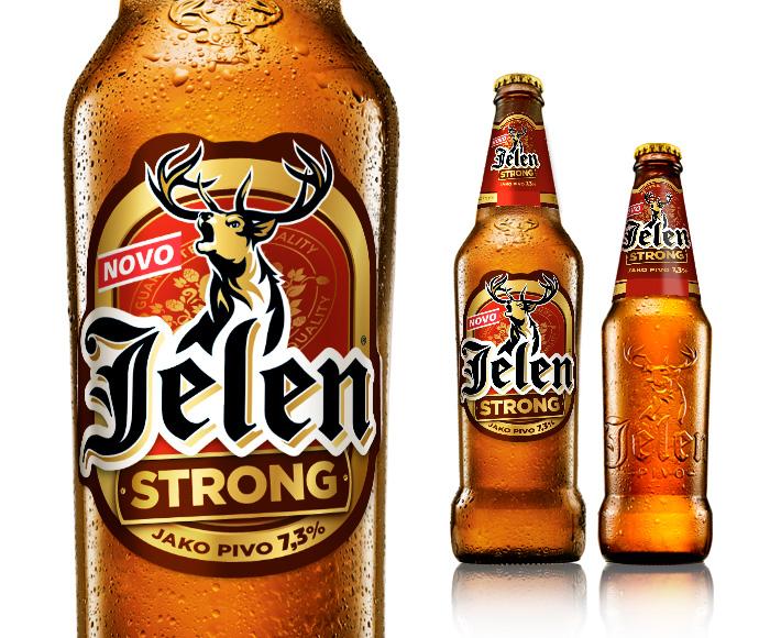 Strong Beer Brands Photo Jelen Strong Beer