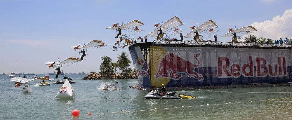 Red Bull Flugtag Comes From Singapore To Miami This