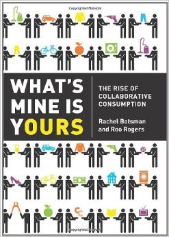 "Photo: Cover of the book ""What's Mine us Yours"""
