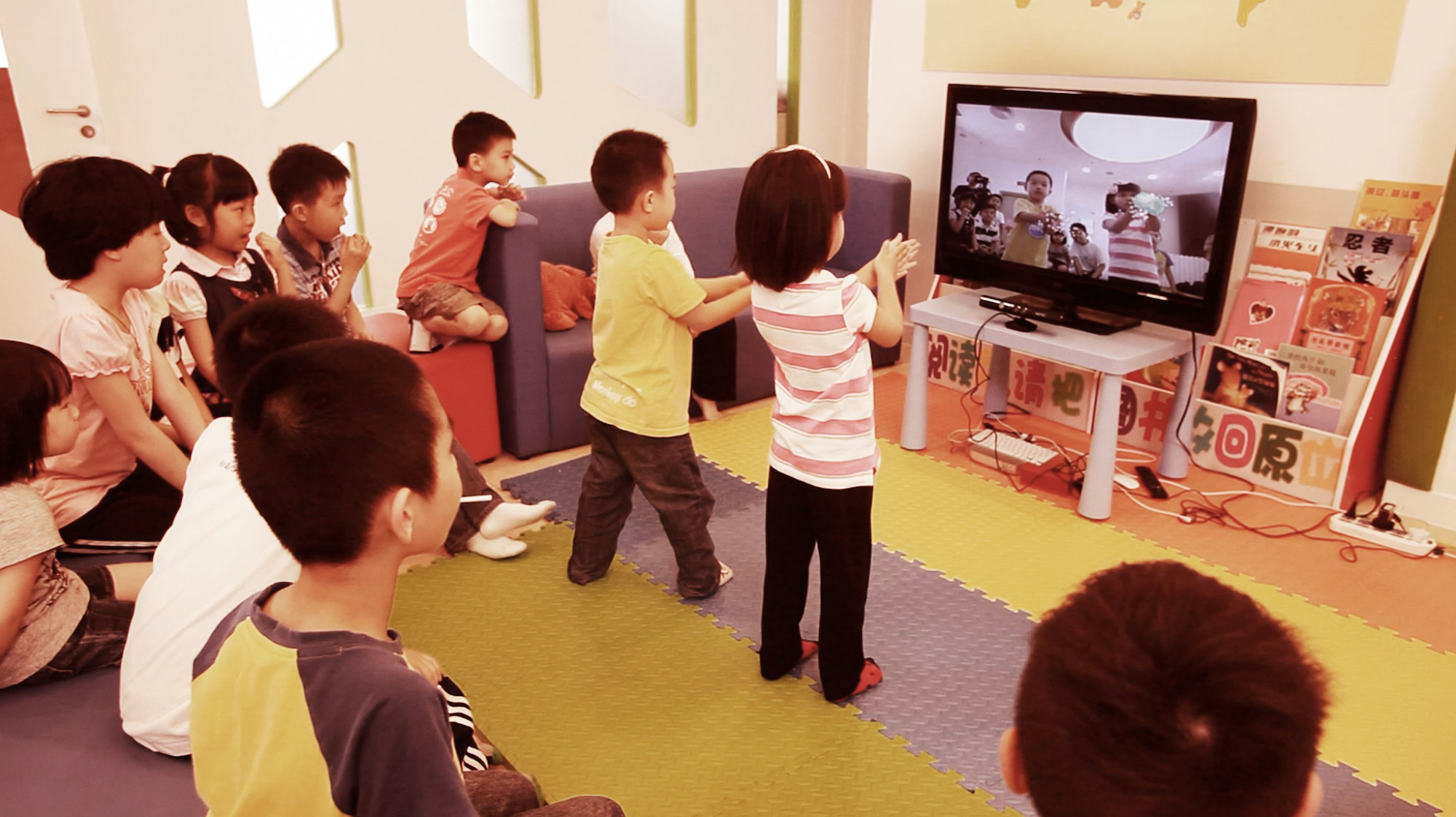 Photo: Saatchi & Saatchi developed a gaming experience for Chinese kids to educate them about the importance of regular hand washing