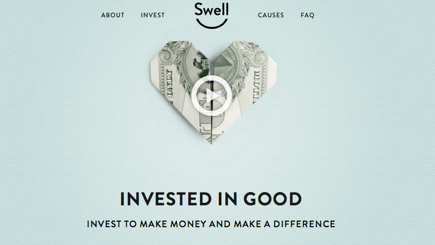 Pic.: Swell is a research company offering cause-driven investment models