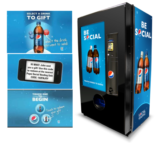 Photo: PepsiCo new vending machine