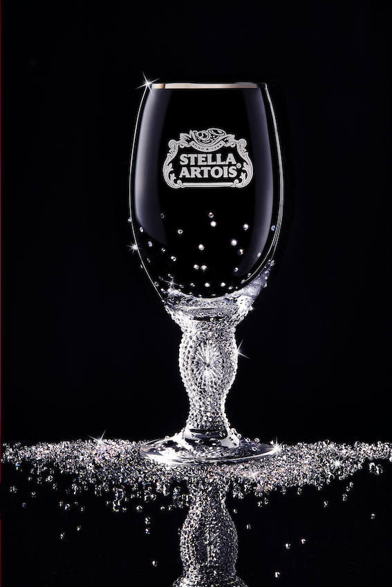 Stella Artois Swarovski Adorned Crystal Chalice_full copy