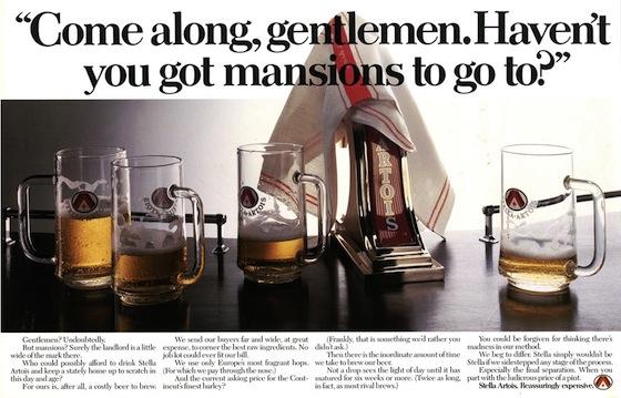 Pic.: Stella Artois advertising