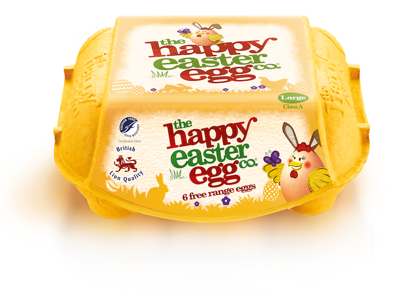 "Photo: Pre-Easter ""Happy Egg"" packaging design"