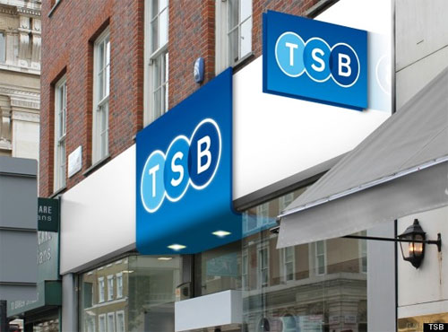 Photo: new TSB identity and branch mockups