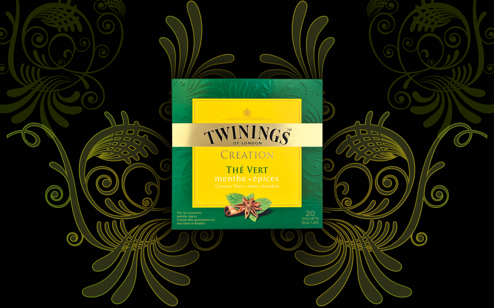Photo: Twinings green flavoured range for the French market