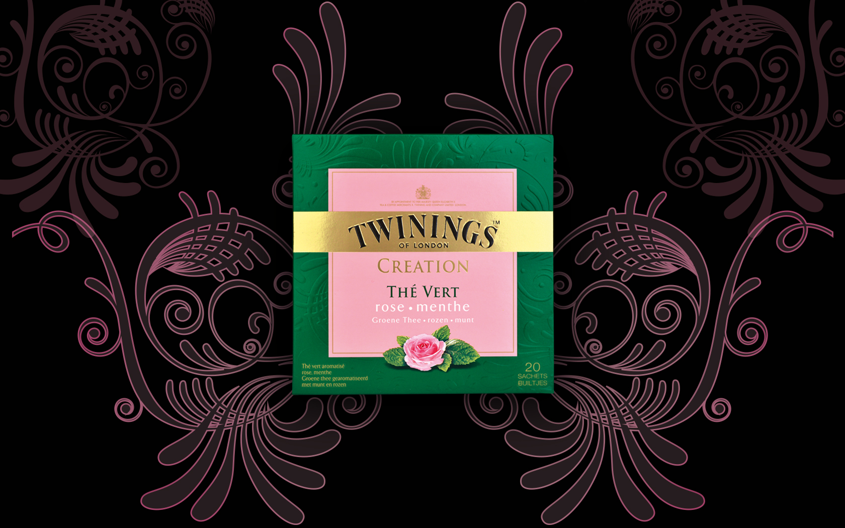 TWININGS ROSE MENTHE