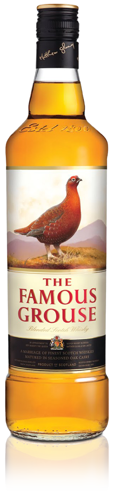 Pic.: The actual design of The Famous Grouse whisky