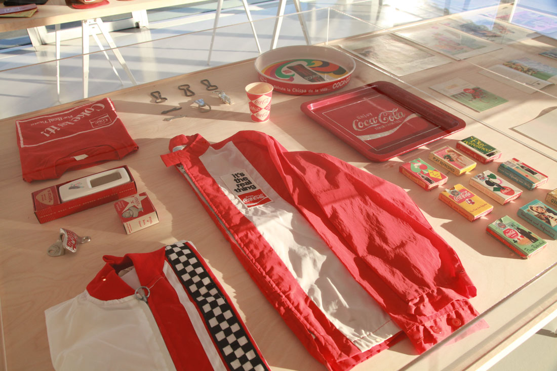 Photo:  Coca-Cola vintage clothing collection by RDx, photos from the opening party in NYC